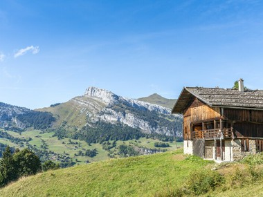 Rare à la vente : chalet d'alpage au Grand-Bornand